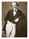 Jacques Offenbach, 1865 Giclee Print by  Nadar