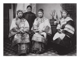 Chinese Women, C.1880 Giclee Print by William Saunders
