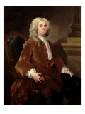 Portrait of William Jones, 1740 Giclee Print by William Hogarth