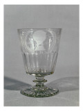 Wheel-Engraved Goblet, C.1800-25 Giclee Print by English School