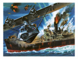 Consolidated Pby Catalina Giclee Print by Wilf Hardy