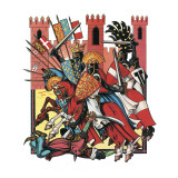 The Story of the Crusades Giclee Print by Escott