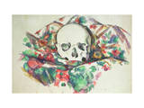 Skull on Drapery, C.1902-06 Giclee Print by Paul Cézanne