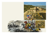 Le Krak Des Chevaliers Giclee Print by Green
