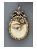 Eye Portrait, C.1810 Premium Giclee Print by  English School