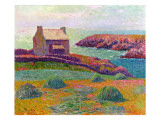 A Cottage in Brittany, 1898 Giclee Print by Moret