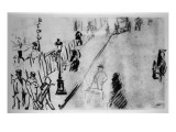 Rue Mosnier, C.1878 Giclee Print by Édouard Manet