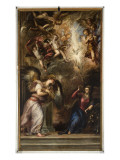 The Annunciation Giclée-tryk af  Titian (Tiziano Vecelli)