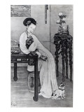 Empress Dowager Cixi Giclee Print by  Chinese School