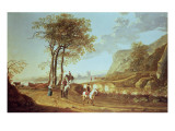 Extensive River Landscape Giclee Print by Aelbert Cuyp