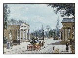 The Leipzig Gate, Berlin Giclee Print by F.A. Calau