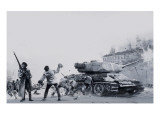 Hungarian Uprising of 1956 Giclee Print by Graham Coton