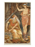 The Stranger Appearing to Midas Giclee Print by Walter Crane