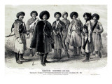 Russian Soldiers Giclee Print by Russian School