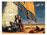 Don Quixote's Crazy World Giclee Print by Neville Dear