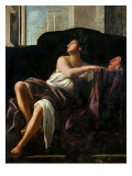 Thalia, Muse of Comedy Giclée-tryk af Giovanni Baglione