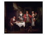 The Marriage Contract Giclee Print by Jan Josef Horemans
