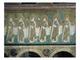 Group of Virgin Martyrs Giclee Print by  Byzantine School