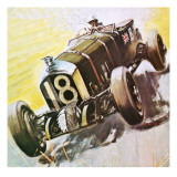 The Black Sheep Bentley Giclee Print by Graham Coton