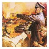 Field Marshal Rommel Giclee Print by  English School
