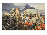 Boers and Natives Giclee Print by  McConnell