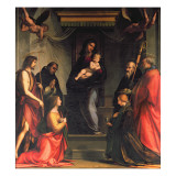 Madonna and Child with Saints Giclee Print by Fra Bartolommeo