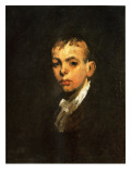 Portrait of a Boy, C.1905 Reproduction procédé giclée par George Wesley Bellows