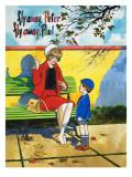 Flyaway Peter, Flyaway Paul Giclee Print by Jesus Blasco