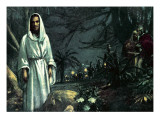 The Garden of Gethsemane Giclee Print by John Millar Watt
