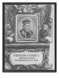 Emperor Ferdinand I Giclee Print by  German School