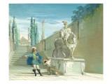 Don Juan, the Challenge Giclee Print by Giuseppe Bernardino Bison