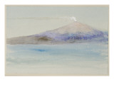 Etna from Taormina Giclee Print by  Ruskin
