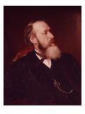 Portrait of V.V. Slasows, 1873 Giclee Print by Ilya Efimovich Repin