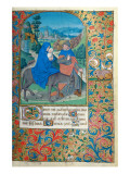 The Flight into Egypt Giclee Print by  French School