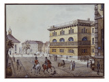 View of the Mint, Berlin Giclee Print by F.A. Calau