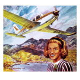 Wings around the World Giclee Print by Robert Brook