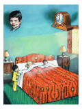 Waking Up Mummy and Daddy Giclee Print by Jesus Blasco