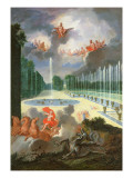 The Groves of Versailles Giclee Print by Jean Cotelle the Younger