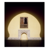 Typical Moroccan Window Giclee Print