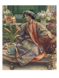 A Hot-House Flower, 1909 Giclee Print by Edward John Poynter