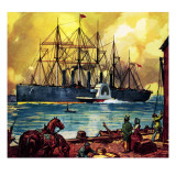 The Great Eastern Giclee Print by  McConnell
