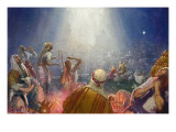Tidings of Great Joy Giclee Print by John Millar Watt