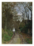Path in Normandy Giclee Print by Claude Monet