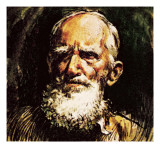 George Bernard Shaw Giclee Print by  English School
