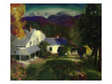 A Mountain Farm, 1920 Giclee Print by George Wesley Bellows