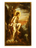 Prometheus Bound Giclee Print by  Moreau