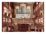 View of the Organ Giclee Print