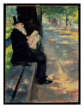 Gentleman in a Zoo, C.1900 Giclee Print by Lesser Ury