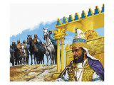 Xerxes I of Persia, 1980 Giclee Print by Payne