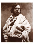 Theophile Gautier, 1855 Giclee Print by  Nadar